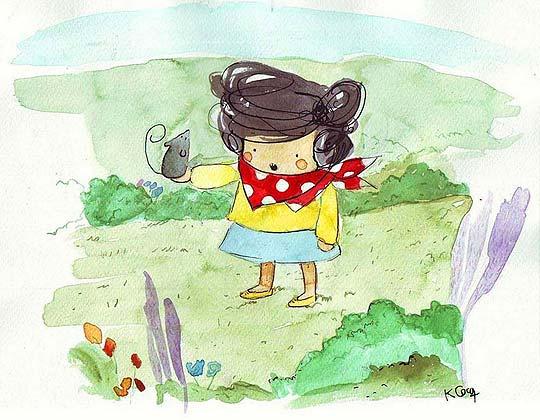 Ilustración. Prehispánico de KARINA COCQ.