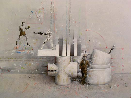 Ilustración y retratos surrealistas de MARIO SORIA