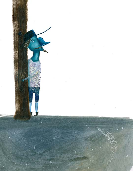 Ilustración infantil de MIGUEL TANCO
