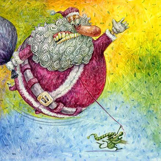 Postal de navidad de TURCIOS