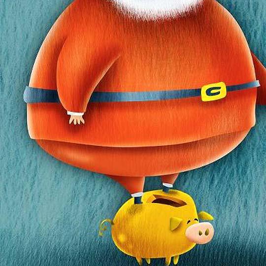 Postal de navidad 2012 de ELENA OSPINA