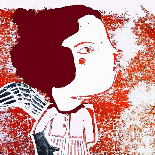 Postal de navidad 2012 de EVELINA OLIVEIRA