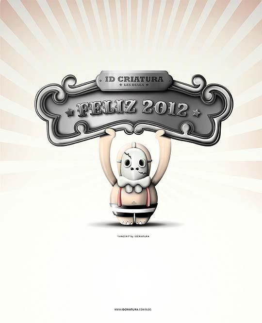 Postal de navidad 2012 de IDCRIATURA