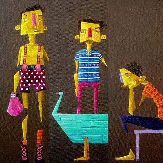 Arte urbano. El estilo de STEREOFLOW