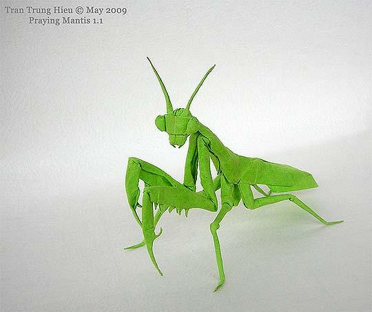 Origami. Papel y animales de ADAM TRAN