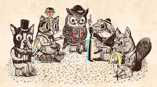 Ilustración y arte de ALEJANDRO GIRALDO