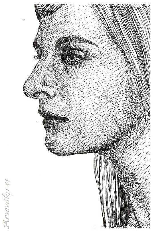 Ilustración. Antonia Zegers de ARSENIO ESPINOZA Aka ArseniKo
