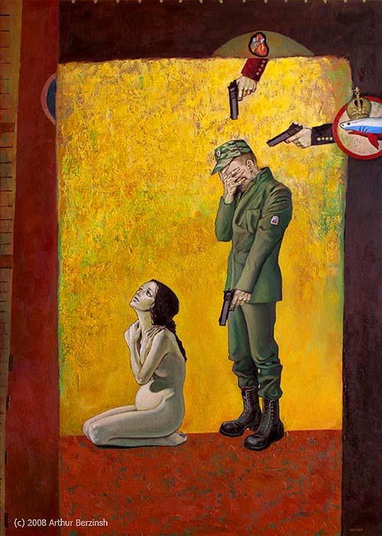 Pintura, rebeldía y más de ARTHUR BERZINSH