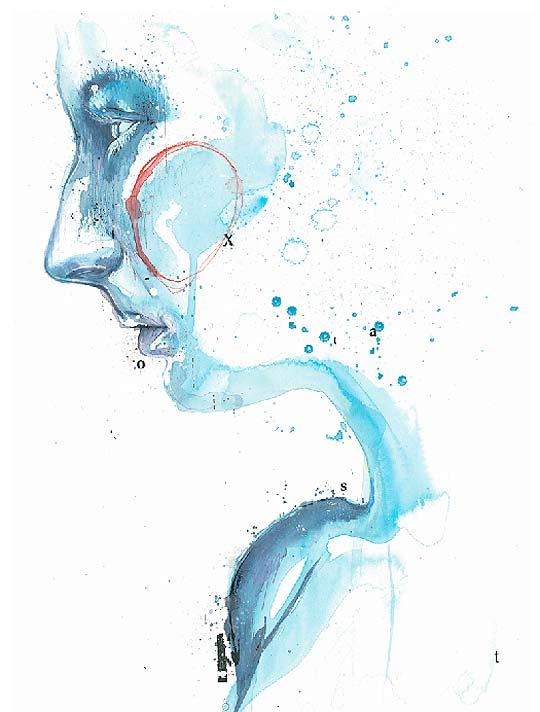 Ilustración. Inspiradora acuarela de BEN TOUR