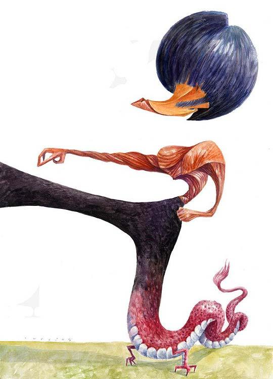 TURCIOS, 3er puesto en concurso de Caricatura en China