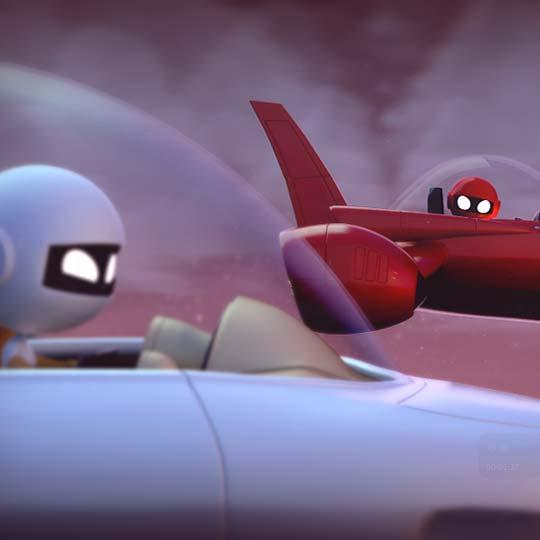 Animación. Danger Planet de JUSTIN BURKS