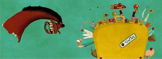 Ilustración. Portafolio de DANIELA BERACOCHEA