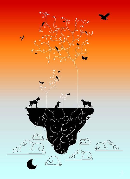 Diseño e ilustración de JONATHAN VIZCUÑA