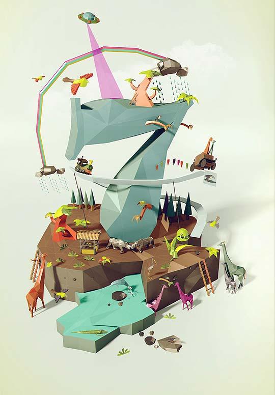 Ilustración. Portafolio de LAMANO ESTUDIO