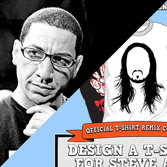 Concurso. Diseña una camiseta o la portada de un mixtape