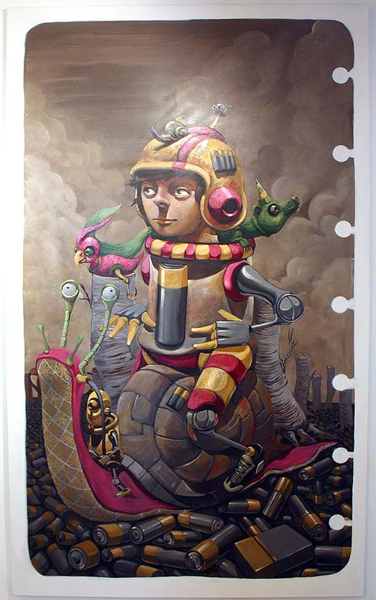 Pintura, arte urbano y más de PIXEL PANCHO