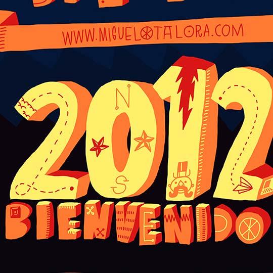 Postal de navidad 2012 de MIGUEL OTÁLORA