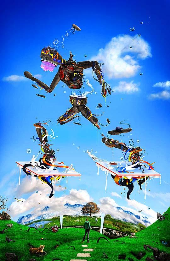 Arte digital desde Filipinas con RAFAEL BANZUELA III