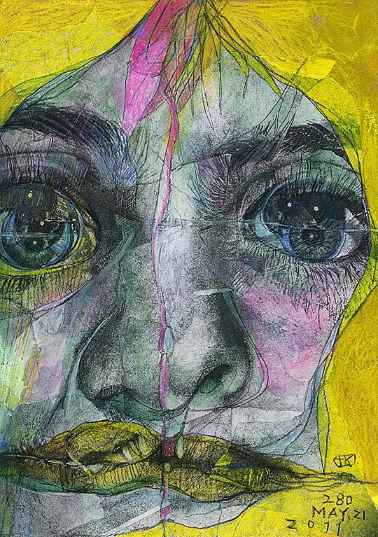 Ilustración en collage de TAKAHIRO KIMURA