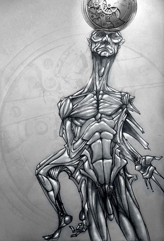 Ilustración. Tiempo de DIEGO ZHAKEN