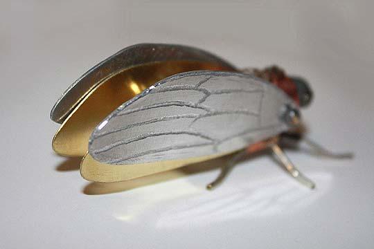 Escultura. Insectos steampunk de TOM HARDWIDGE