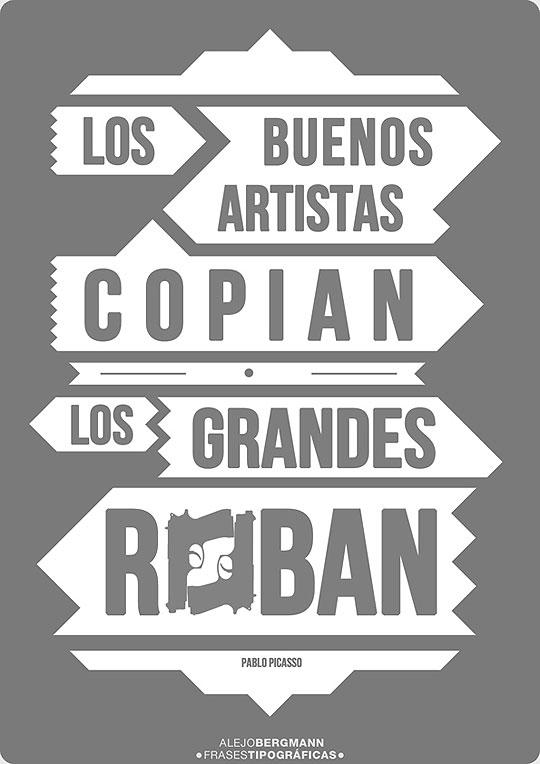 Diseño y Tipografía de ALEJO BERGMAN.