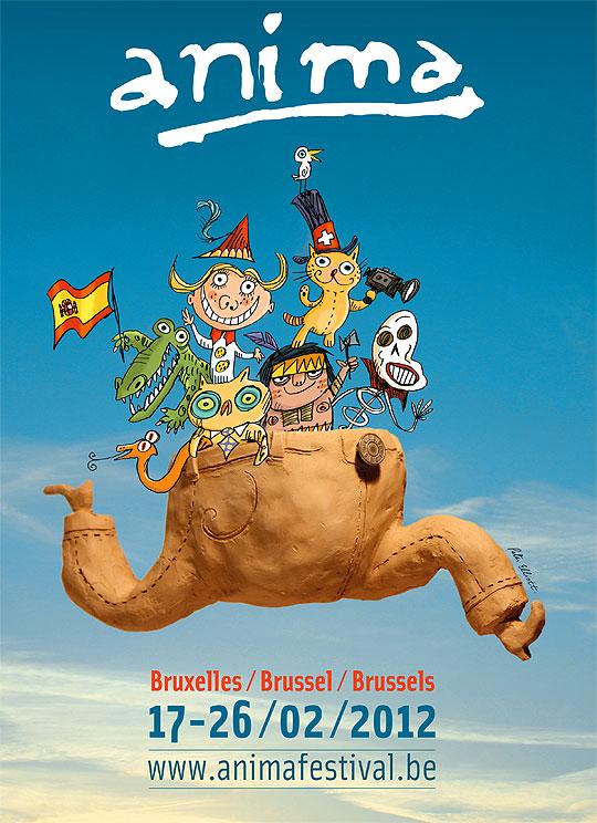Festival Internacional de animación ANIMA 2012.