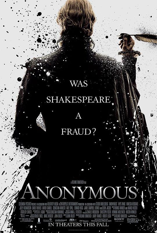 10 Posters de Película. Premios Oscar 2012. Anonymous.
