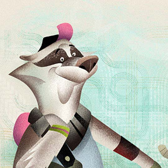 Ilustración infantil de DAVE MOTT