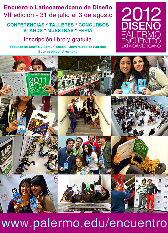 Encuentro Latinoamericano de Diseño 2012 VII edición
