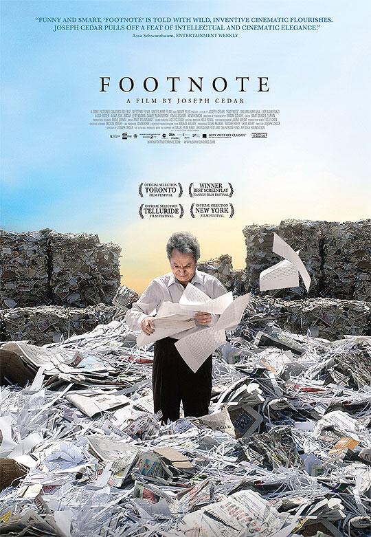 10 Posters de Película. Premios Oscar 2012.Footnote.