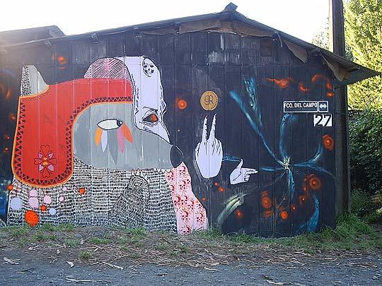 Arte urbano de GRUPORESPETO