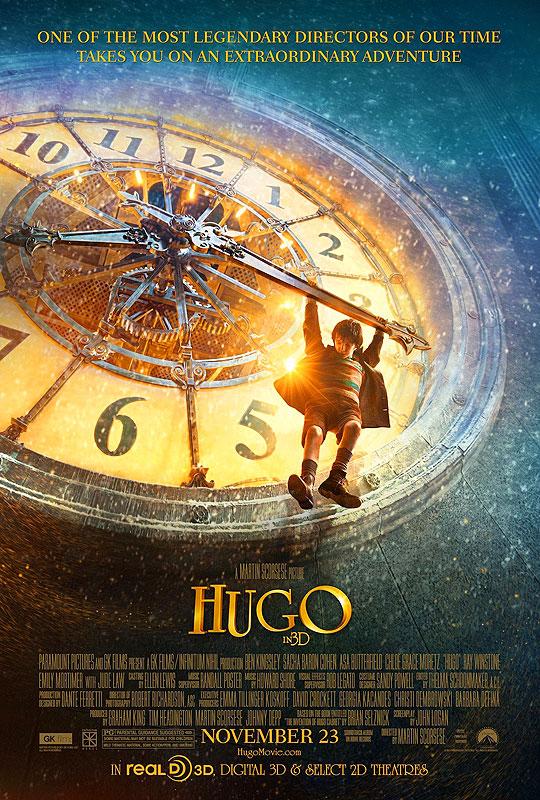 10 Posters de Película. Premios Oscar 2012. Hugo.