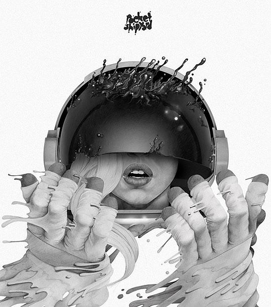 Ilustración y retratos de MICHAEL MOLLOY