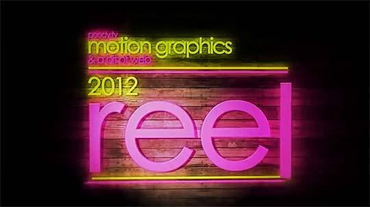 Motion graphics de PETER QUINN