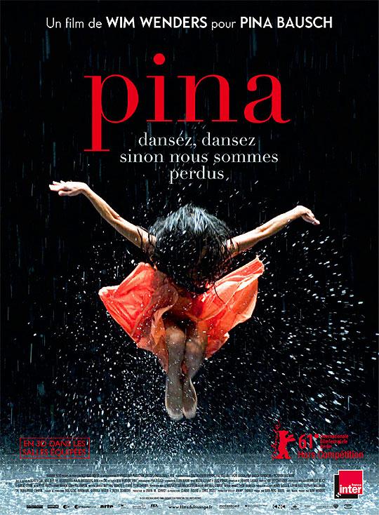 10 Posters de Película. Premios Oscar 2012.Pina.