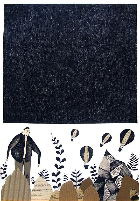 Ilustracióny collage de SARA LANDETA.