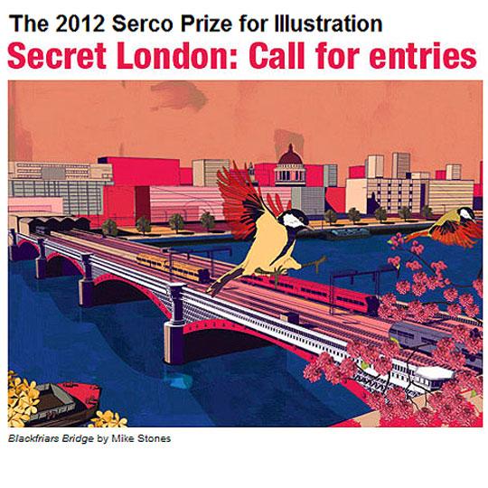 Concurso de Ilustración.2012 Serco Prize for Ilustration.