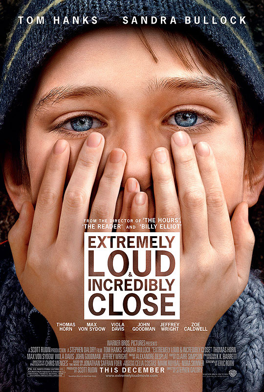 10 Posters de Película. Premios Oscar 2012. Extremely Loud and Incredibly Close