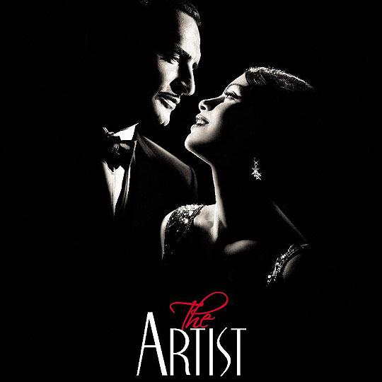 10 Posters de Película. Premios Oscar 2012. The Artist