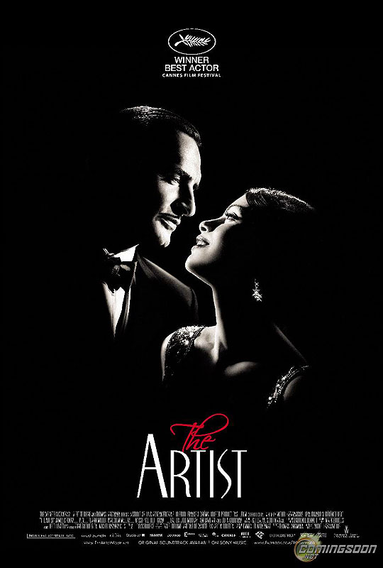 10 Posters de Película. Premios Oscar 2012. The Artist.