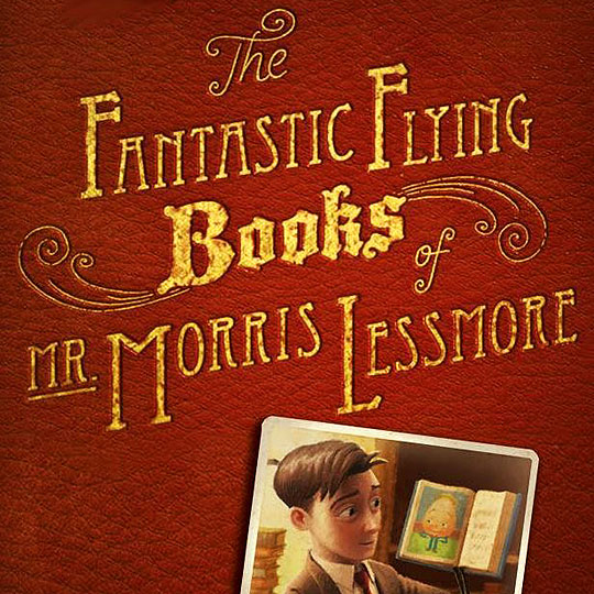 "Animación Oscar 2012. ""The Fantastic Flying Books of Mr. Morris Lessmore""."