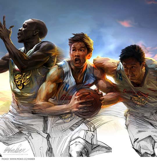 Ilustración de ZHANG WEIMANG