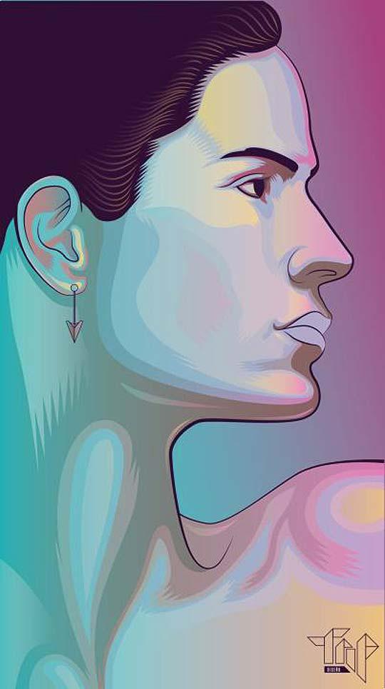 Ilustración de ANDRÉS LEYVA Aka ANDY WOL