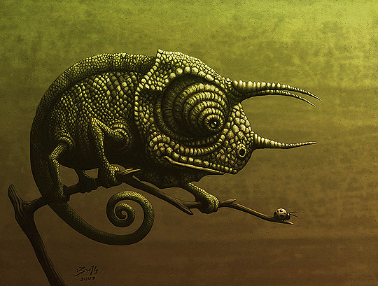 Ilustración y concept art de ROBERTO PADULA Aka BONEKRISHNA.