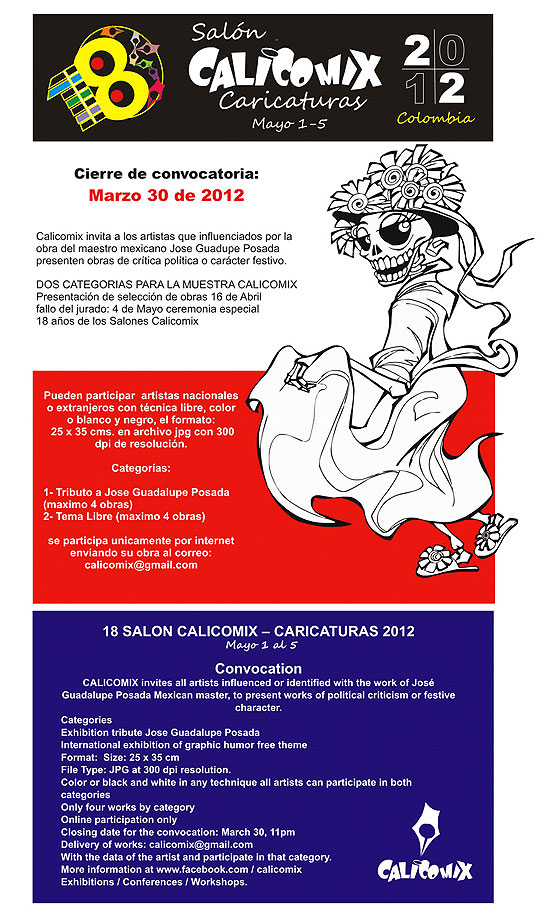 18 Salon Calicomix – Caricaturas 2012
