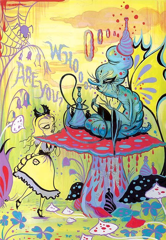 Ilustración de CAMILLE ROSE GARCIA