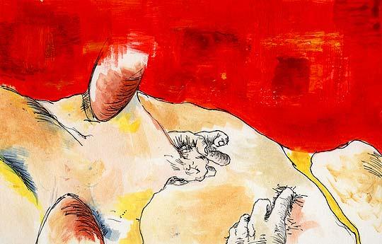 Ilustración. La niñez de CAMILO GARCÍA