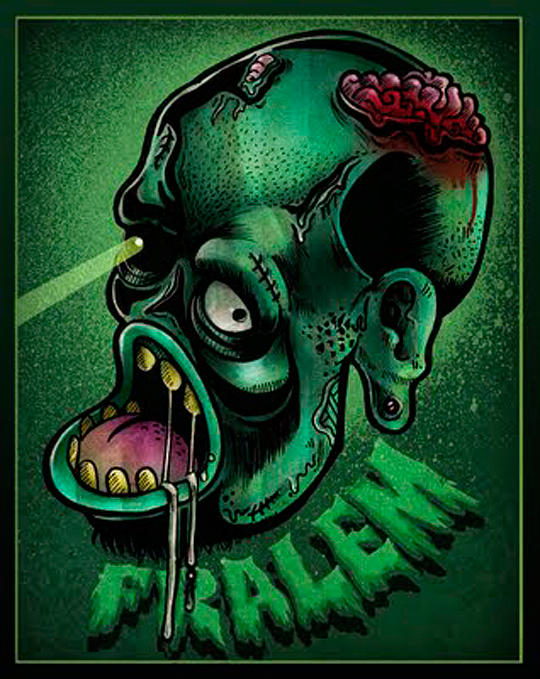Ilustración. Bettlejuice de FREDDY MASIS Aka FRALEM.