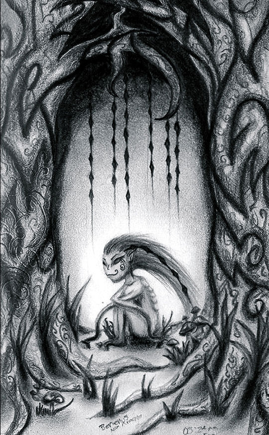 Dibujo Apariencias de KATHERIN MOJICA BENENUS ATROFIUS.
